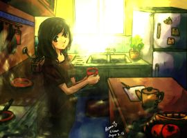2- Sorry, I made a coffee just for myself.. by ReenaCat