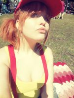 Misty at a picnic by BunnyRue