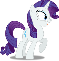 Vector #252 - Rarity #9 by DashieSparkle