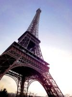 Eiffel at Evening by shadows-fang