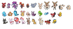 Some New Fakemon by Juan-Amador