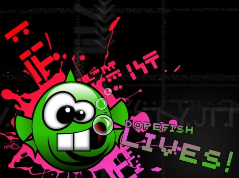 Dopefish Lives GLOSSY MIX by MarginalLeger