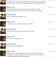 Thor and Loki FB convo 10 by JadenTheFangirl
