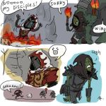 Of Orcs And Men, doodles 2 by Ayej