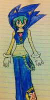 Sonic Styled Miku by Zorceus