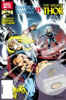 Thor vs The Invisible Woman by SashScott