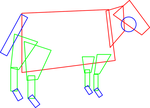 How to draw a cow by nevit