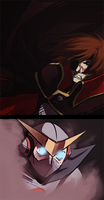harlock vs. casshern by thanoodles