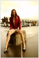 Kathryn - wharf red 2 by wildplaces