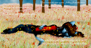 .::Wake me up when September Ends::. by SkyBlueArts