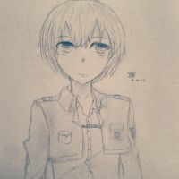 Armin by Aigsketchy