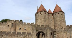 Carcassonne II - Porte Narbonnaise by Scipia