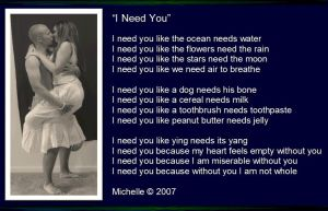 I Need You by VisualPoetress