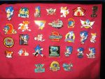 Sonic Pin Collection 2007 by sonicrules100