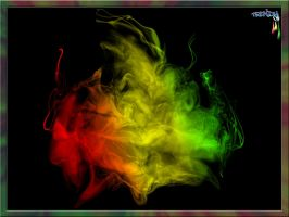 Reggae Rasta Smoke... by zonk675