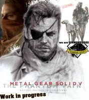 BIG BOSS METAL GEAR SOLID V WE ARE DIAMOND DOGS by GabrielArtist