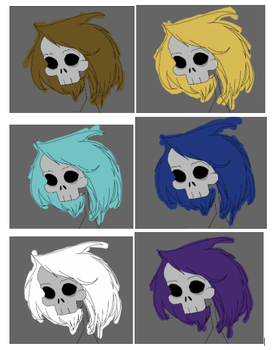 Death mask concept update by Kezonthemooon