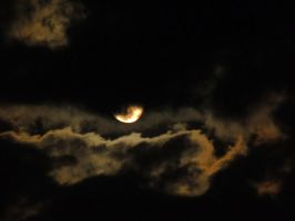 clouds night mond by stock1-2-3