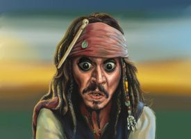 Jack Sparrow by jiangming