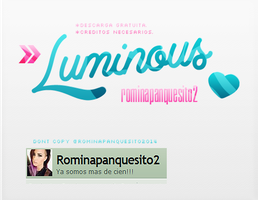 Luminous style gratis| ASL download by Romina-panquesito