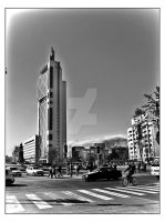 Santiago in b and w... by Nobodyloves