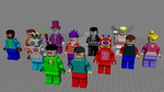 LEGO Jimenitoon Models - FINALIZED!!! by JIMENOPOLIX
