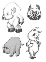 Pigs by madDolphin