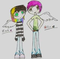 Zack and Ollie by XBrokenDownBeauty