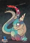 the mutated undead dragon by tikopets