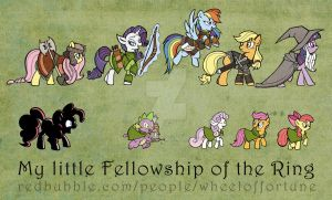 My little fellowship of the ring by SWING-21