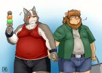Hold each others hands for the first time by ShinodaHamazaki