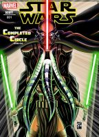 Star Wars : The Completed Circle (Front Cover) by AgentArtist