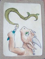 ACEO for dragonlady by Drrrakonis