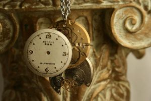 Reconstructed Watch Pendant II by GomoDucky