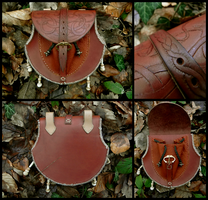 Pagan belt bag by Noir-Azur