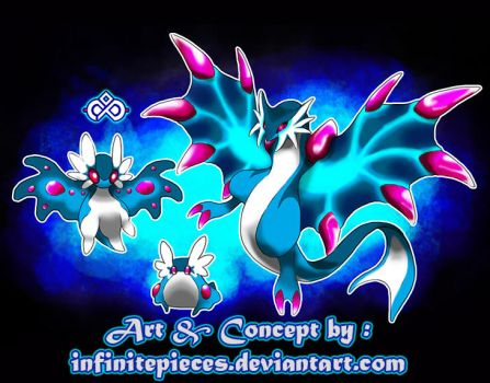 Fakemon : The Dragonic Molusc ! by InfinitePieces