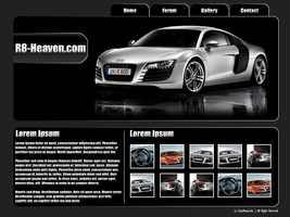 Audi R8 Mock by datamouse