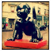 The Attack Of Monster-Baby In Zurich by malessere