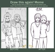 Draw This Again! Meme by Hpkipmc