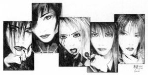 old school Dir en grey by pink-KILLER