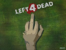L4D the Finger by vexorii