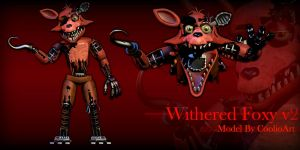 Withered Foxy v2 by CoolioArt