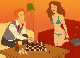 Strip Chess by julvett