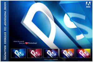 Adobe Photoshop CS5e Wallpaper by deadPxl