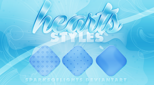 .hearts styles. by SparksOfLights
