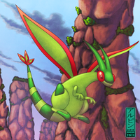 FANART - Flygon by alpin-j