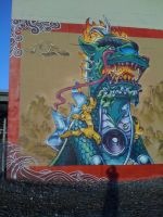 Chinese Kirin Guardian Estria Oakland by estria