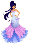 Amy ball gown - Avatartara (REQUEST nr. 1) by Woogyuxi