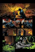 color portfolio: The Bounce issue7 pag5 by shiprock