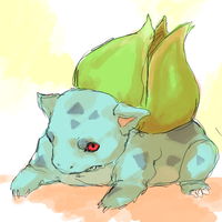 bulbasaur by pokiesman
